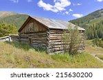 Vintage Log Cabin In Mining...