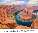 Amazing Vista Of Horseshoe Bend ...