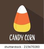 Halloween Candy Corn Flat...