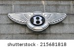 Постер, плакат: The Bentley logo on