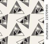 vector seamless pattern. modern ... | Shutterstock .eps vector #215709454