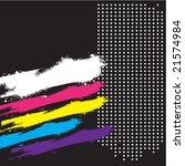 abstract retro grunge... | Shutterstock .eps vector #21574984