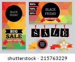 set of design template for... | Shutterstock .eps vector #215763229