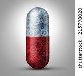 future of medicine and... | Shutterstock . vector #215798020