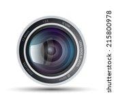 camera lens   Shutterstock .eps vector #215800978