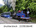 darjeeling  india    july. 8.... | Shutterstock . vector #215818648