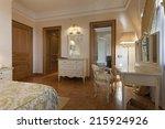 classic style room interior  | Shutterstock . vector #215924926