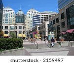 City Center, Oakland, California - stock photo
