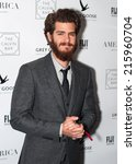 Small photo of Toronto - September 8, 2014: Actor Andrew Garfield at the America Restaurant afterparty for the film 99 Homes.