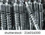 car shock absorber | Shutterstock . vector #216016330