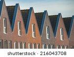 Facade of Modern Real Estate - stock photo