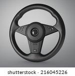 steering wheel | Shutterstock . vector #216045226