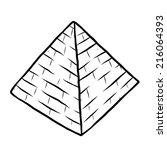 Pyramid   Cartoon Vector And...
