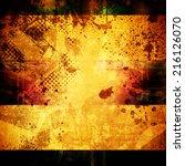 grunge background | Shutterstock . vector #216126070