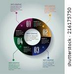 colorful creative design modern ... | Shutterstock .eps vector #216175750