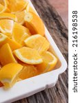 oranges fruits   Shutterstock . vector #216198538