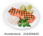 Roasted Salmon Fillets With...