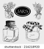 jar set | Shutterstock .eps vector #216218920