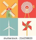 vector illustration icon set of ... | Shutterstock .eps vector #216258820