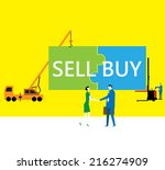 teamwork  the consensus | Shutterstock .eps vector #216274909