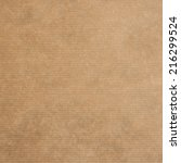 Small photo of brown kraft paper texture or backgroun, square format