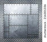 metal background | Shutterstock . vector #216301336