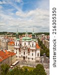 prague  czech republic   june... | Shutterstock . vector #216305350