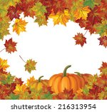 Vector Autumn Leaves And...