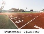 athletics stadium | Shutterstock . vector #216316459