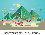 vector illustration of... | Shutterstock .eps vector #216319069
