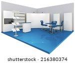 render commercial stands ... | Shutterstock . vector #216380374