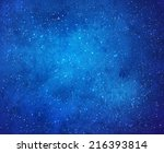 falling snow watercolor...   Shutterstock .eps vector #216393814