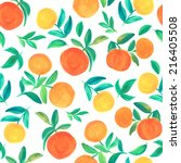 seamless pattern with... | Shutterstock . vector #216405508