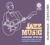 jazz | Shutterstock .eps vector #216411484