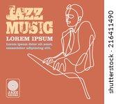 jazz | Shutterstock .eps vector #216411490