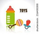 toys design over white... | Shutterstock .eps vector #216430300