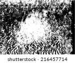 vector grunge texture for... | Shutterstock .eps vector #216457714