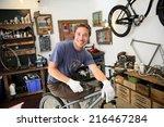 Portrait Of Smilng Craftsman I...