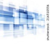 blue abstract technology... | Shutterstock . vector #216510556