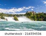 The Rhine Falls In Schaffhause...