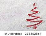 Christmas Tree On Flour...