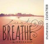 Inspirational Typographic Quot...