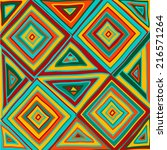 hand drawn pattern tile in... | Shutterstock .eps vector #216571264