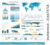 human infographic vector... | Shutterstock .eps vector #216675718