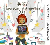 happy make your first site or...