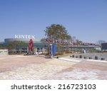 gyeonggi  south korea  mar 26 ... | Shutterstock . vector #216723103