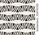 vector seamless pattern. modern ... | Shutterstock .eps vector #216741520