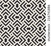 vector seamless pattern. modern ... | Shutterstock .eps vector #216741886