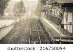 Old Train Station Vintage In...