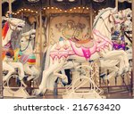 French Background  Carousel...